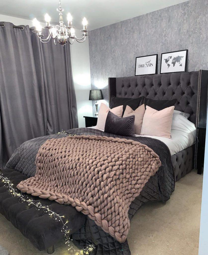 40 Pretty&Cozy Modern Bedroom Decoration Ideas for Girls - Page 2 of 8 - Vivelavi Blog