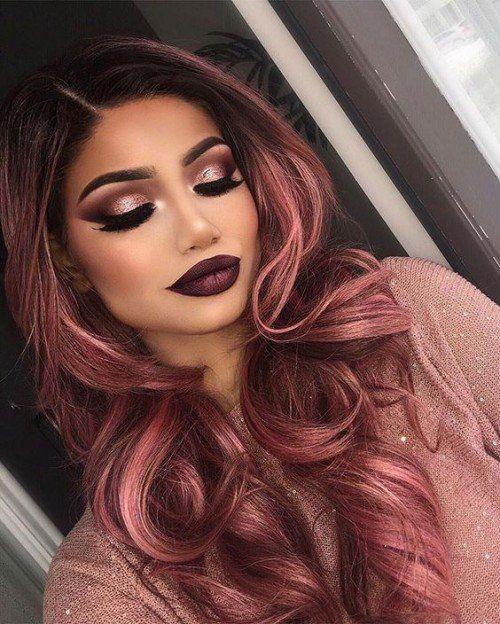 40+ Best Rose Gold Hair Color Ideas to Try - Page 2 of 41 - Veguci
