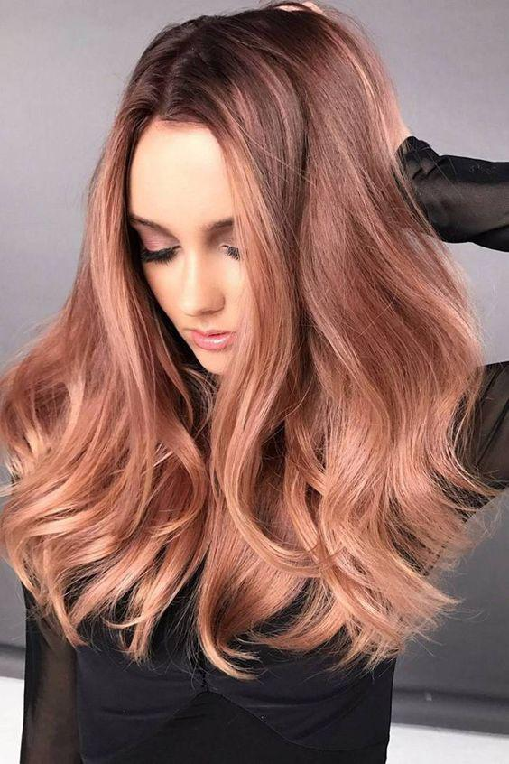 40+ Best Rose Gold Hair Color Ideas to Try - Page 39 of 41 - Veguci