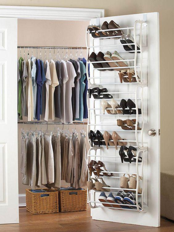 25 Space Saving Shoe Rack Ideas #shoe #shoerack
