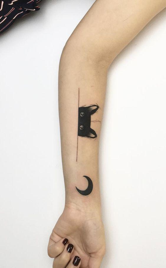 35 Gorgeous Moon Tattoo Designs That You Never Want To Miss! - Page 30 of 35 - GetbestIdea
