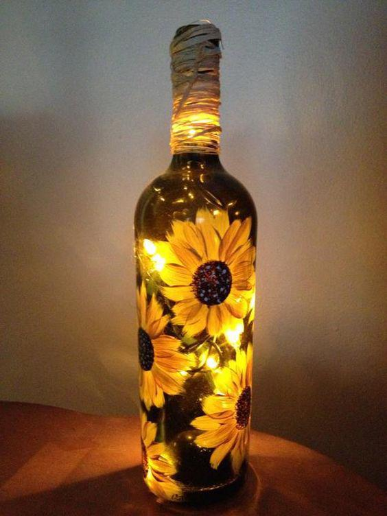 Bottle Crafts Diy Bottle Wine Bottle