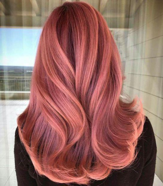 40+ Best Rose Gold Hair Color Ideas to Try - Page 11 of 41 - Veguci