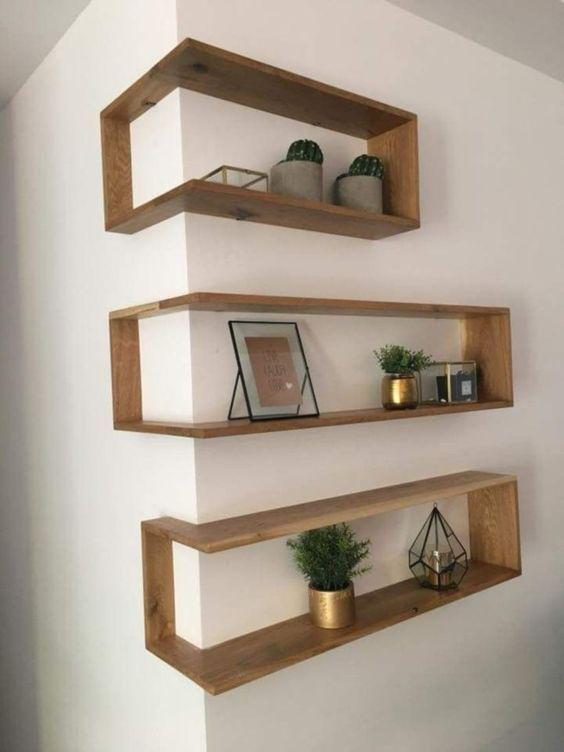 DIY, shelves, home decor, interior design