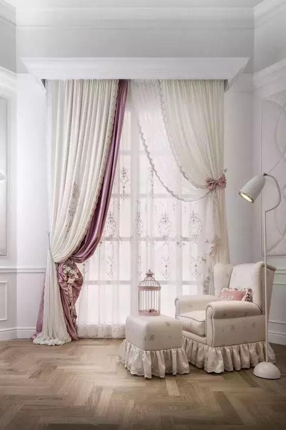 48 unique curtain case sharing! #curtain #decoration #homestyle