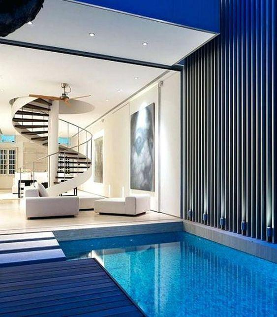 40 Incredible Small Indoor Pool Design Ideas For Cozy Summer At Your Home - Page 17 of 41 - LoveIn Home