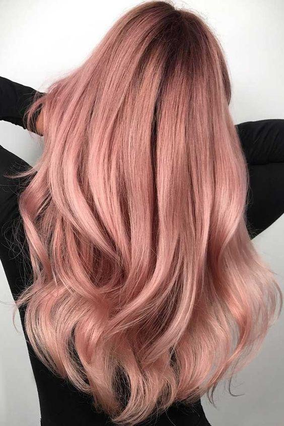 40+ Best Rose Gold Hair Color Ideas to Try - Page 13 of 41 - Veguci