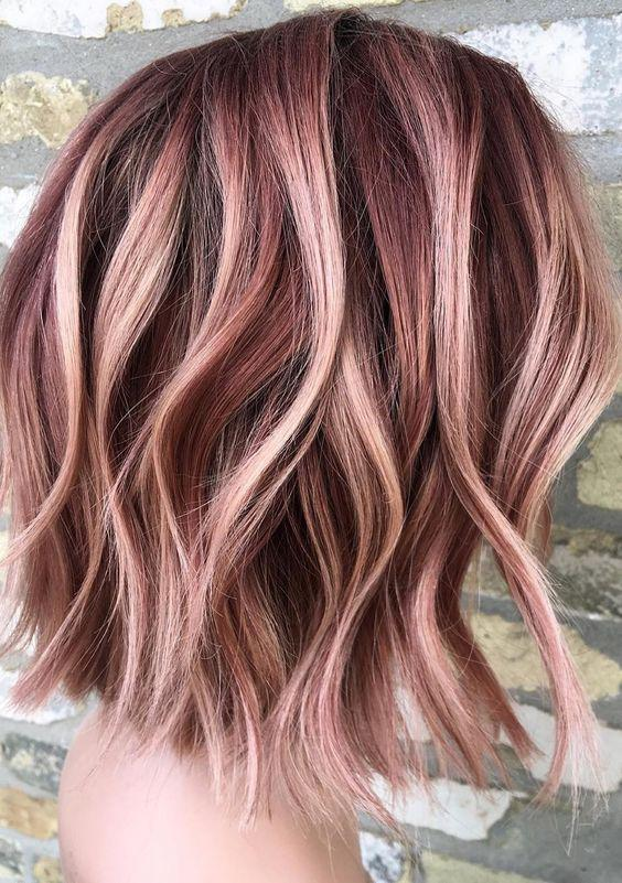 40+ Best Rose Gold Hair Color Ideas to Try - Page 7 of 41 - Veguci