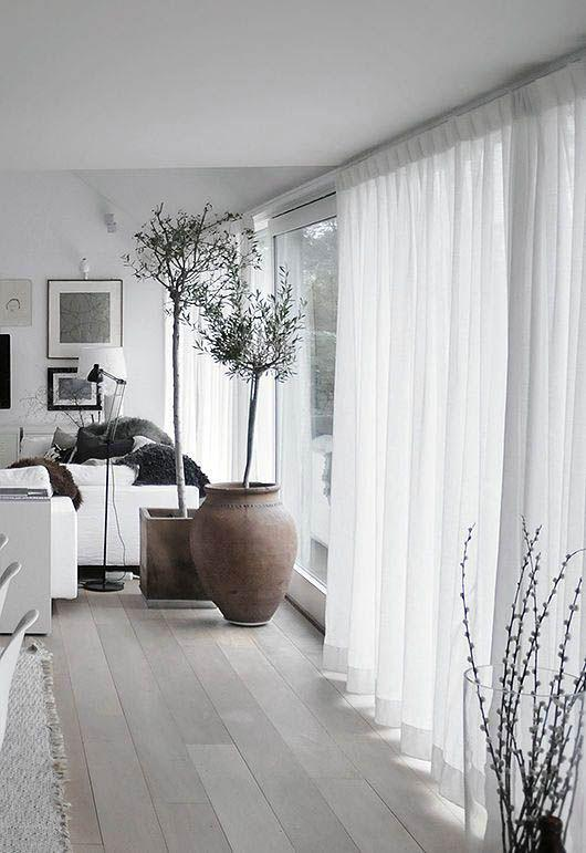 31 Great Minimalist Curtains Ideas for Your Modern Living Room! - Page 4 of 7 - Vivelavi Blog