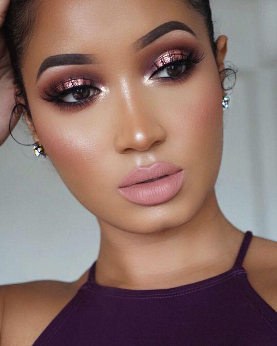 32 Gorgeous Rose Gold Makeup Ideas That Make You Glow! - Page 18 of 32 - GetbestIdea