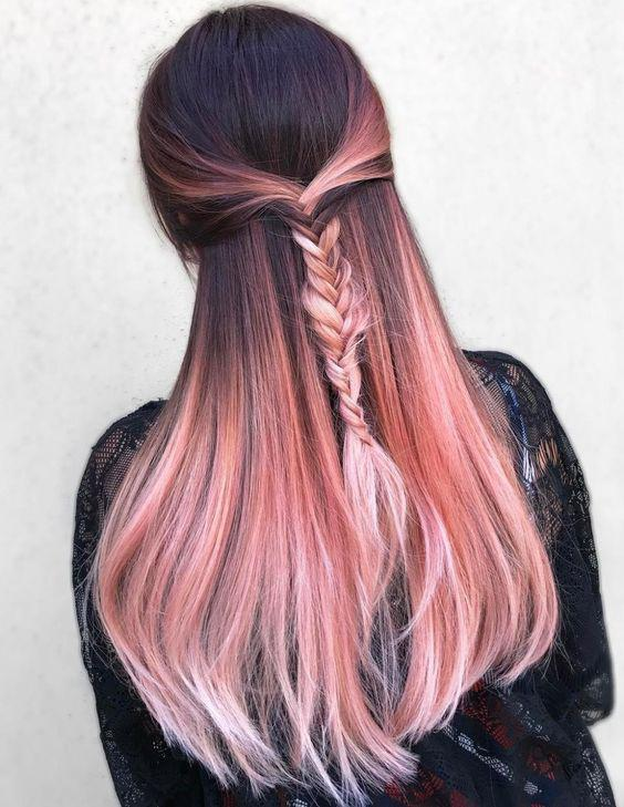 40+ Best Rose Gold Hair Color Ideas to Try - Page 6 of 41 - Veguci