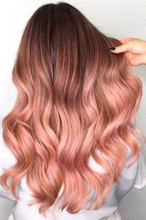 40+ Best Rose Gold Hair Color Ideas to Try - Page 10 of 41 - Veguci