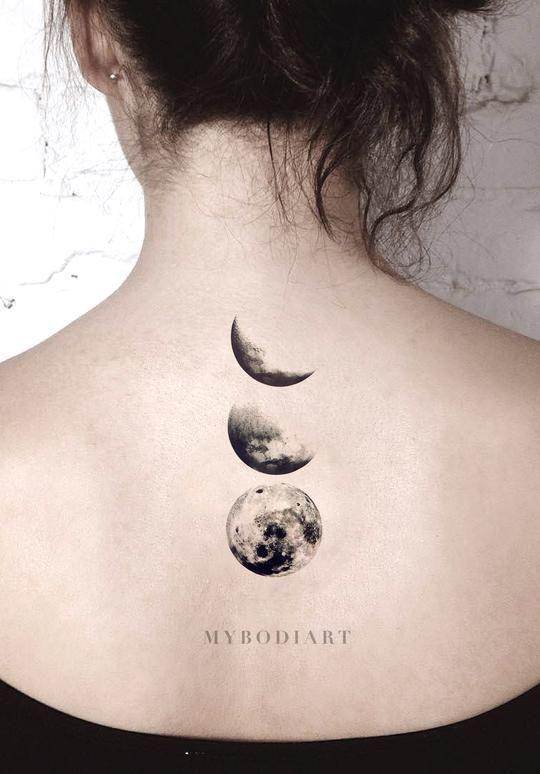 35 Gorgeous Moon Tattoo Designs That You Never Want To Miss! - Page 22 of 35 - GetbestIdea
