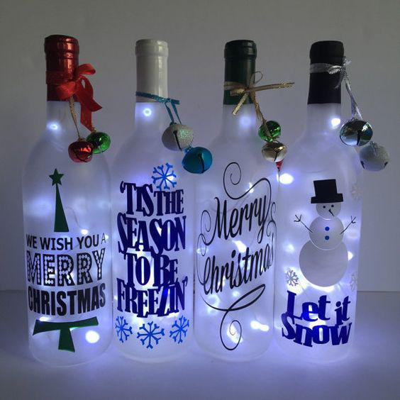 Bottle Crafts Bottle DIY DIY Bottle Wine Bottle Bottle Lights