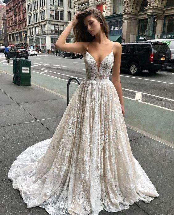 33 The Most Flattering Spring 2019 Wedding Dresses - Page 2 of 33 - Veguci