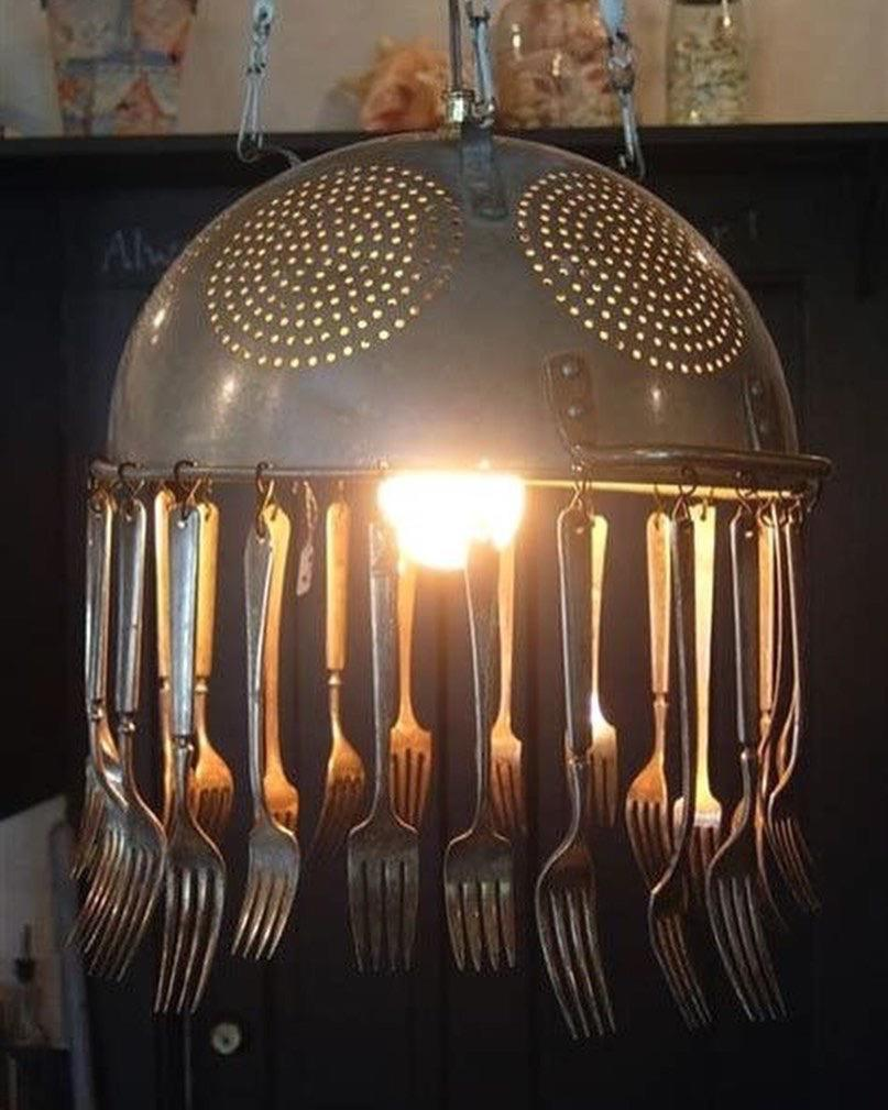 36 Fun and Unique Lamp Ideas for You diylamp;Crafts;Originality;oldtreasures;myhome;myhomestyle; home light ideas