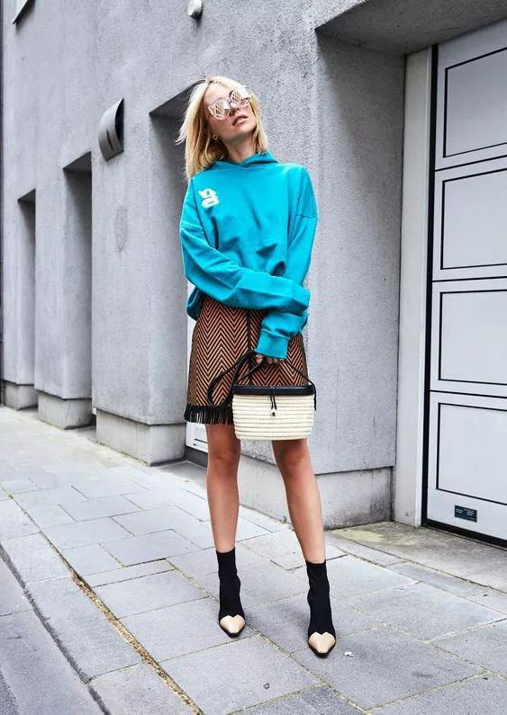 Sweatshirt booties, the most beautiful combination of autumn and winter - zxmiss