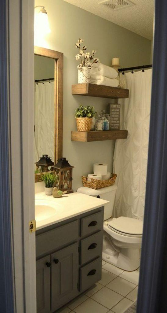 35 Brilliant Inspirational Decor Ideas for Your Small Bathroom - Page 3 of 7 - Vivelavi Blog