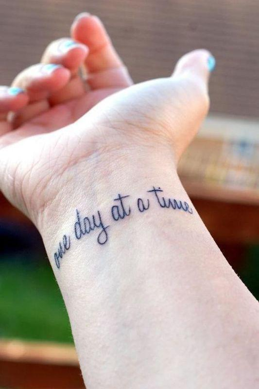 42 Best Tattoo Quotes To Inspire You Everyday tattoo quotes, strength tattoos, meaningful tattoo designs