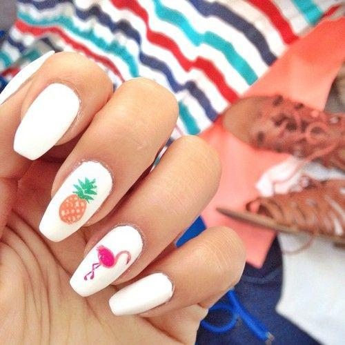 53 Tropical Flamingo Nail Art Ideas - Page 5 of 53 - Kornelia Beauty