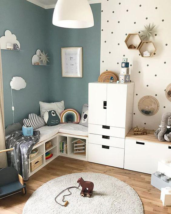 40 great ideas for unique and natural children's rooms