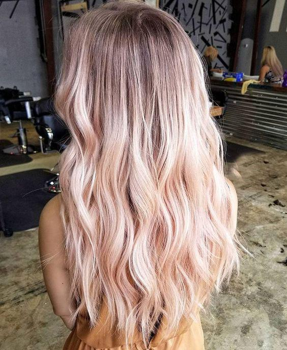 40+ Best Rose Gold Hair Color Ideas to Try - Page 5 of 41 - Veguci