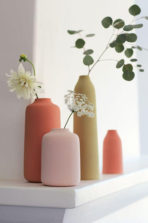 flower vases, Interior decoration, vases