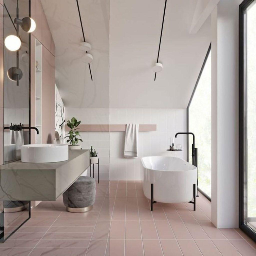 35 Pretty and Practical Modern Bathroom Design Ideas for Your New House - Page 6 of 7 - Vivelavi Blog