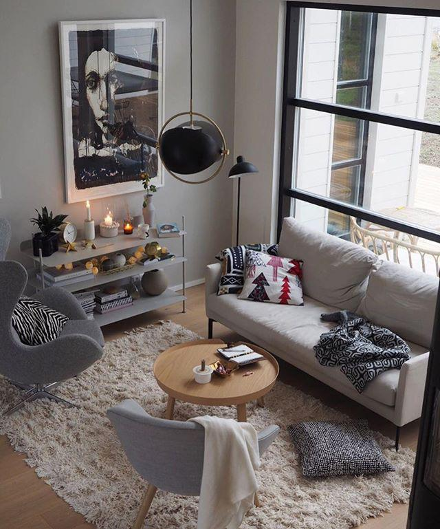40 Very Cozy Small Modern Living Room Decor Ideas on a Budget - Page 5 of 8 - Vivelavi Blog