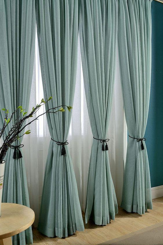 31 Great Minimalist Curtains Ideas for Your Modern Living Room! - Page 3 of 7 - Vivelavi Blog