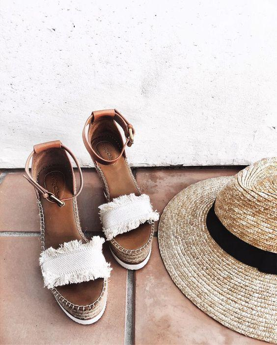 Summer shoes, summer outfits, sandals.