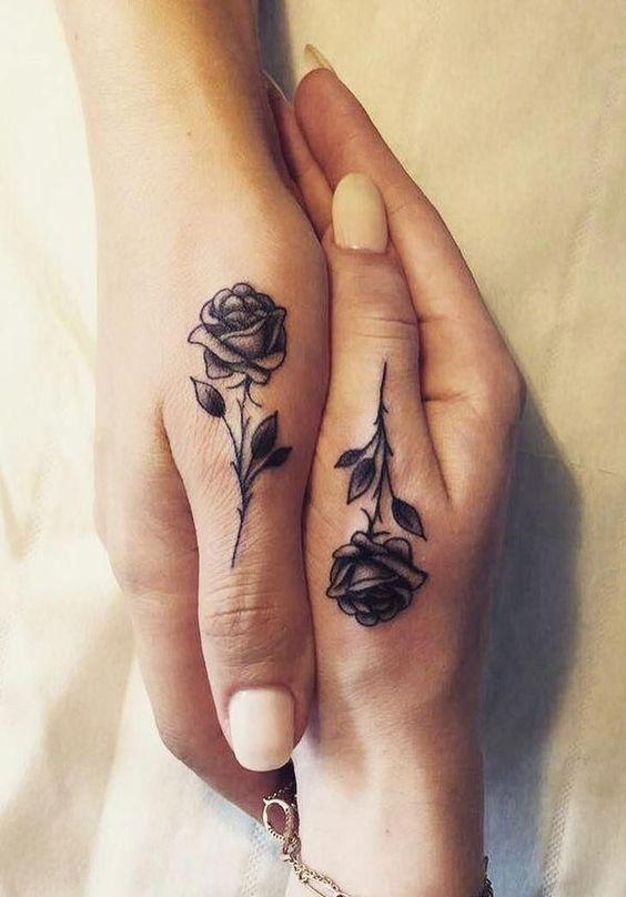 35 Romantic Matching Tattoo Ideas for Couples - Page 32 of 35 - Kornelia Beauty