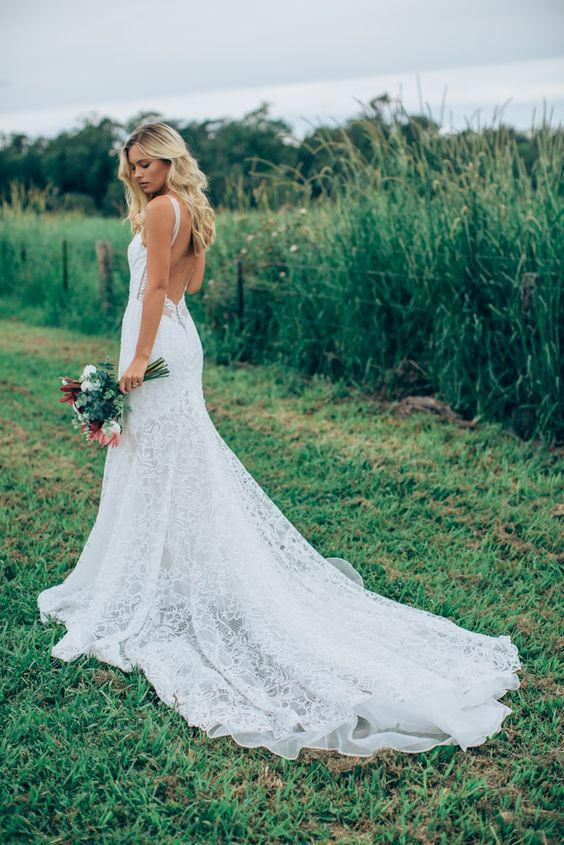 33 The Most Flattering Spring 2019 Wedding Dresses - Page 21 of 33 - Veguci