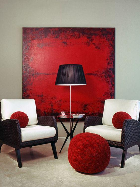 36 Vibrant Red Gives Your Live Passion home design, , interior design, red design, kitchen design, living room