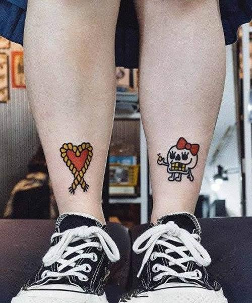 20 style couple tattoos - Page 5 of 20 - lovemxy