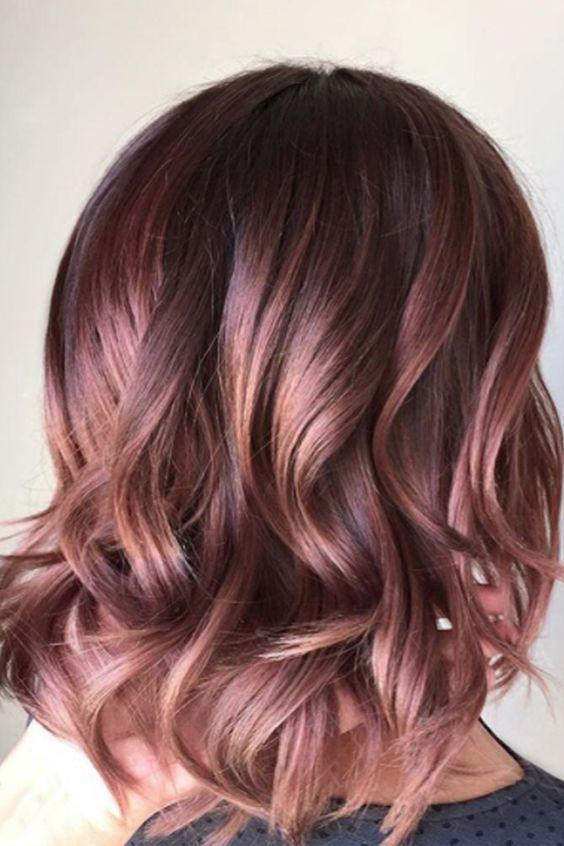 40+ Best Rose Gold Hair Color Ideas to Try - Page 9 of 41 - Veguci
