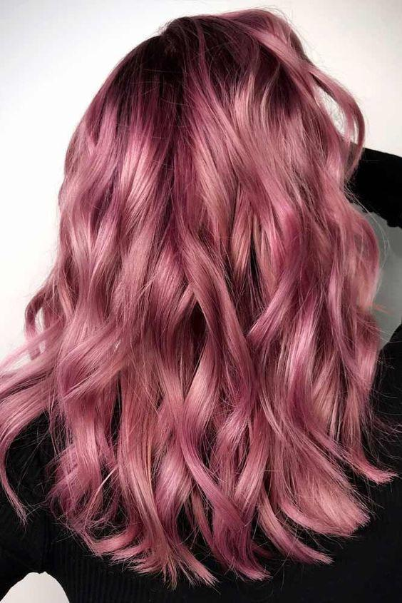 40+ Best Rose Gold Hair Color Ideas to Try - Page 8 of 41 - Veguci