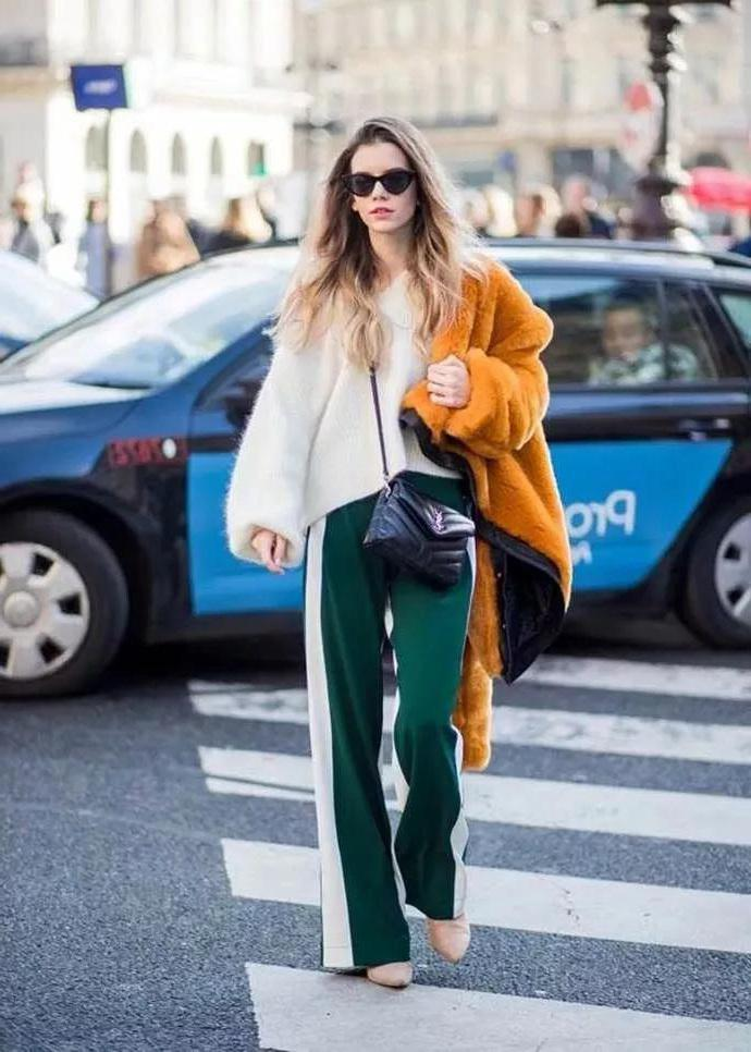 Sweater + wide leg pants = fashionable temperament, is the best cp combination! - zxmiss