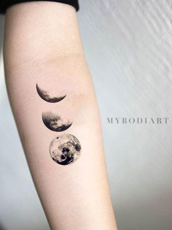 35 Gorgeous Moon Tattoo Designs That You Never Want To Miss! - Page 23 of 35 - GetbestIdea