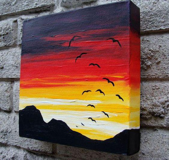 easy painting ideas on canvas; diy painting canvas; acrylic painting ideas; painting ideas on canvas for beginners; canvas painting ideas for kids.