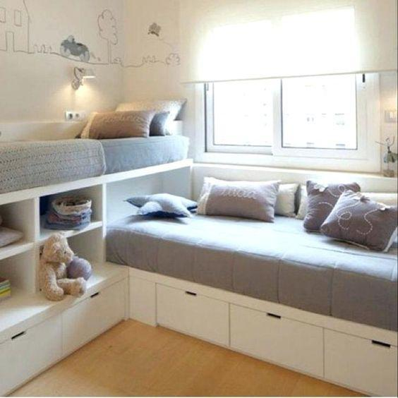 40 Space Saving Bunk Beds For Small Rooms You Need To Copy In 2019 Bunk Bed Ideas Sharing Bedroom Ideas Shared Bedrooms Space Saving Room Ideas Imtopic