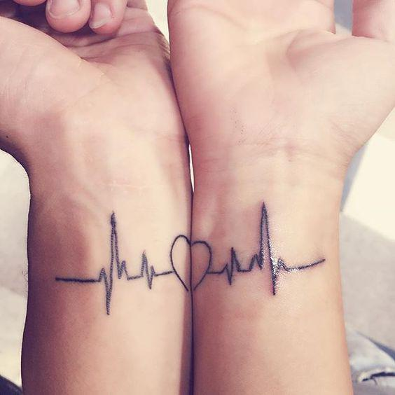 35 Romantic Matching Tattoo Ideas for Couples - Page 7 of 35 - Kornelia Beauty