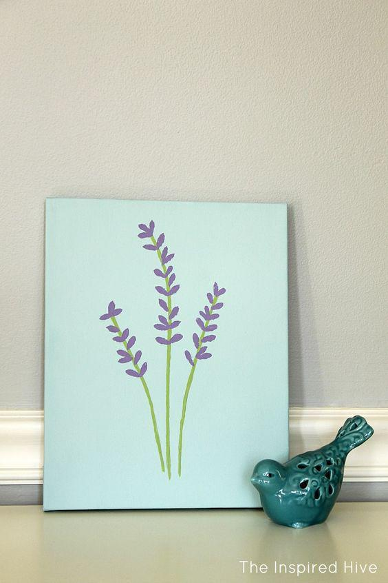 40 Meaningful DIY Paintings Make Your Home Unique home decor,DIY paintings,DIY crafts,cartoon paintings