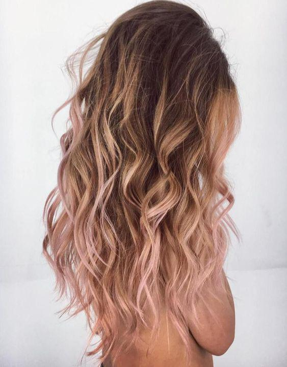 40+ Best Rose Gold Hair Color Ideas to Try - Page 38 of 41 - Veguci