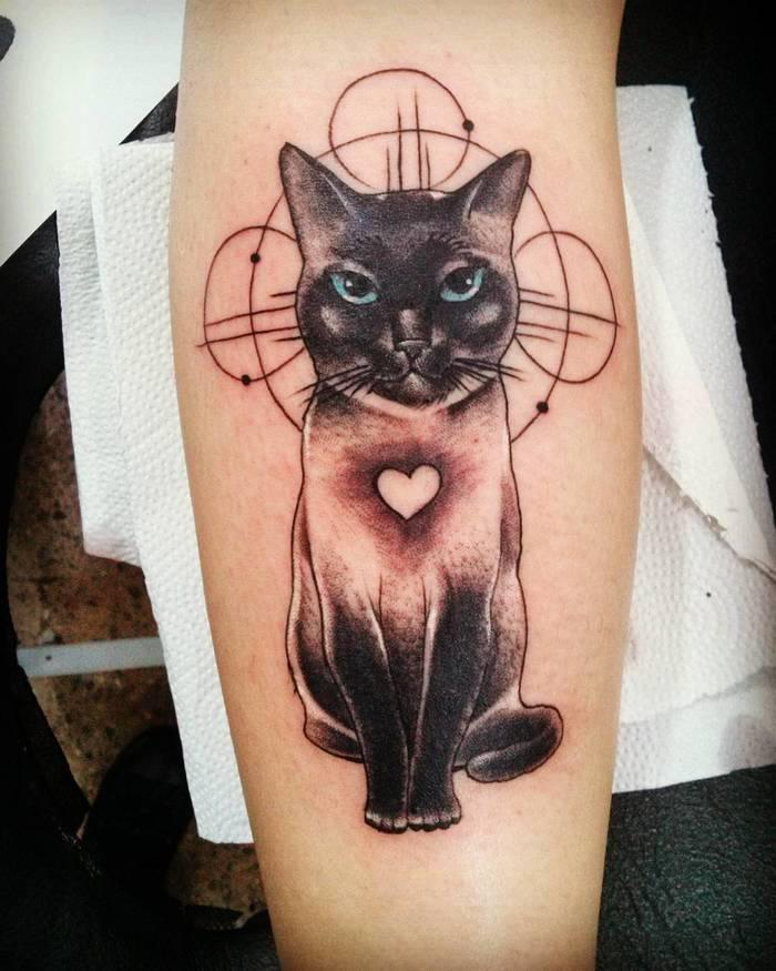 47 Of The Very Best Cat Tattoos - Page 35 of 47 - LoveIn Home