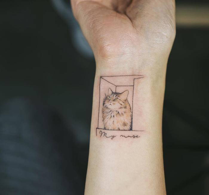 47 Of The Very Best Cat Tattoos - Page 34 of 47 - LoveIn Home