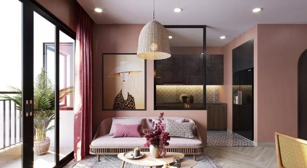 Pink Living Room Design - Page 13 of 21 - LoveIn Home