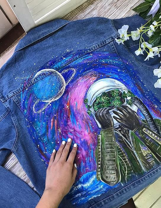 36 Wonderful Painted Clothes Make You Unique - SooShell