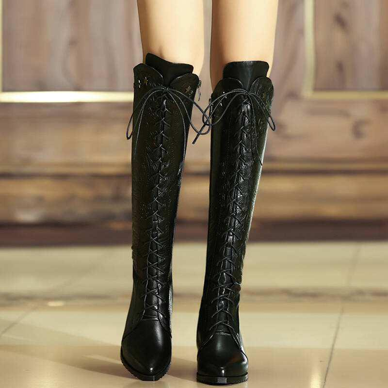 WEARING LONG BOOTS WITH LONG LEGS WILL KEEP YOU BEAUTIFUL. - Page 34 of 48 - yeslip