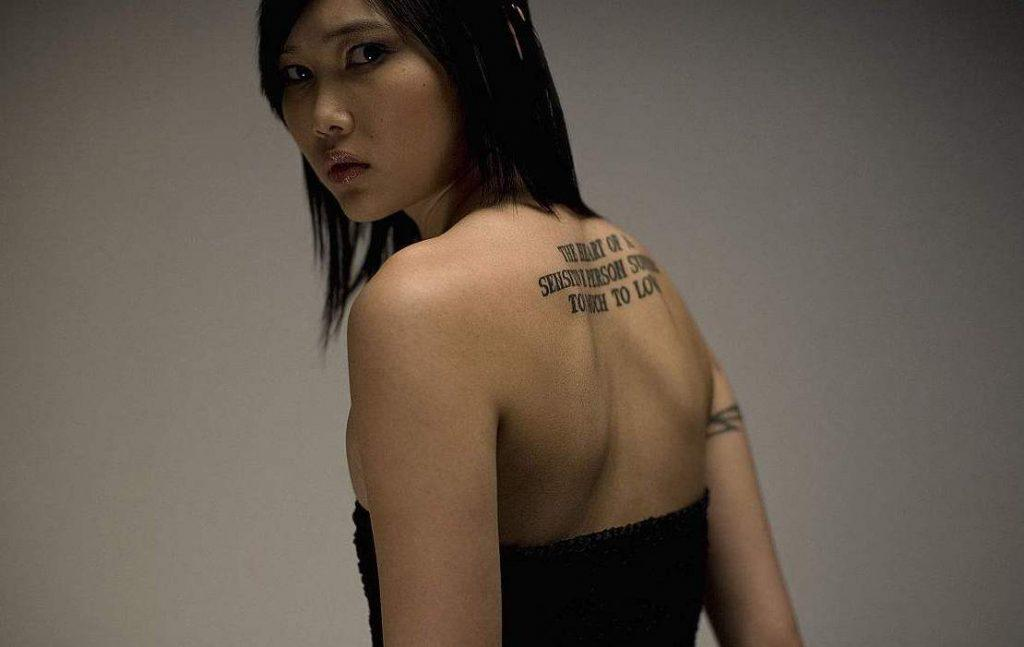 51 FASHION-RELATED HIGH-PROFILE GIRLS BACK SMALL TATTOO - Page 31 of 51 - yeslip